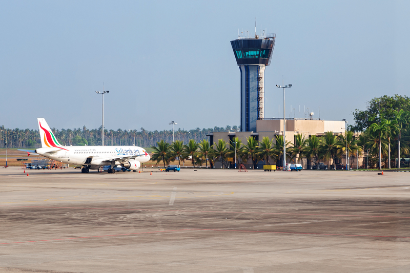 Bandaranaike International Airport (CMB) serves Colombo in Sri Lanka.